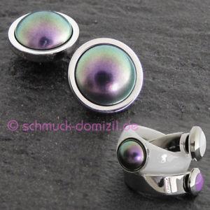 【送料無料】ブレスレット ニュースパールパープルステンレススチールnovit melano vividadattatoremeddy perla purplein acciaio inox 8 mm