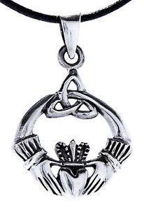 【送料無料】ブレスレット アイルランドッドクラダシルバーペンダントcladdagh irlandese liebes amicizia hochzeitssymbol ciondolo argento 925 105