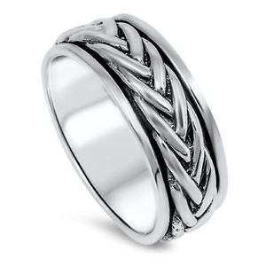 【送料無料】ブレスレット リングスターリングシルバースピナanello argento sterling spinner