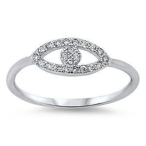 【送料無料】ブレスレット スターリングシルバーリングsterling silver cz malocchio anello