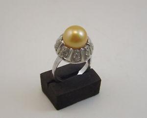 【送料無料】ブレスレット シルバーパールリングビンテージリングanello vintage in argento e perla silver ring
