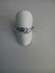 【送料無料】ブレスレット シルバーリングホワイトジルコンリングanello donna solitario argento 925,zircone bianco idea regalo ring 101216
