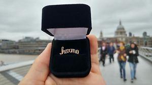 【送料無料】ブレスレット リングワイヤリングパーソナライズnome del wire anello regalo personalizzato per il suo anello fatto a mano in oro giallo riempito