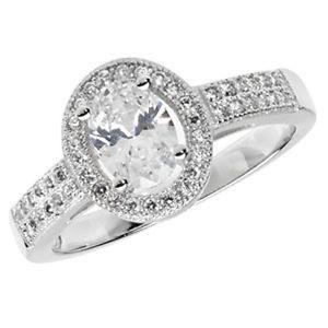 【送料無料】ブレスレット スターリングシルバークラスタクリアリングショルダーargento sterling chiaro zirconi anello cluster con dettaglio spalla * g7424