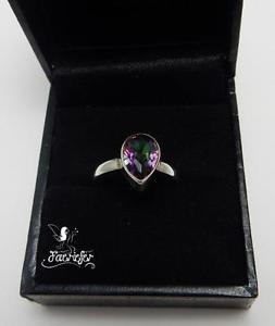 【送料無料】ブレスレット トパーズリングmistico topazio anello magico mistico gemstone 925 solido argento finissimo vera