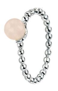 【送料無料】ブレスレット anello argento 925 anello argento con quarzo rosa argento anello e palla gambo r3449p