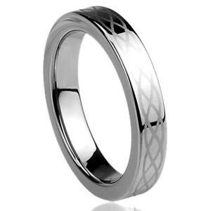 【送料無料】ブレスレット チタニウムコンフォートフィットリングノードセルティックリング4mm titanio fede nuziale comfort fit anello nodo celtico inciso anello