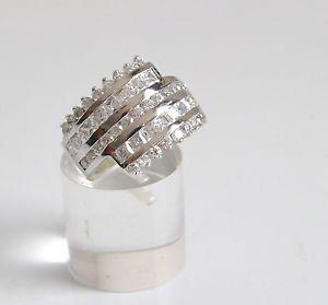 【送料無料】ブレスレット シルバーリングanello argento 925 molto vistoso con zirconi bellissimo misura 13 affare