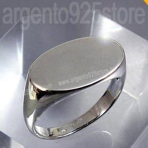 【送料無料】ブレスレット anello uomo in argento 925 lavorazione orafa oval essential ac