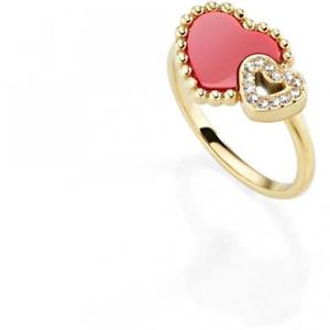 【送料無料】ブレスレット リングスチールゴールドanello morellato sempreinsieme sagf11012 acciaio gold dorato cuore heart