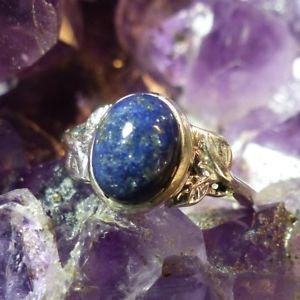 【送料無料】ブレスレット ジョリーラピスラズリアルジェントjolie bague lapis lazuli en argent 925  t 52