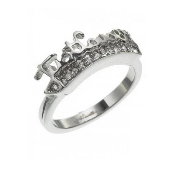 【送料無料】ブレスレット リングs0315458 anello donna just cavalli scpk01012 16,56 mm nuovo