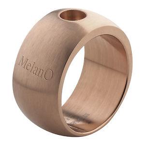 【送料無料】ブレスレット ローズリングサイズマットマグネットmelano magnetico anello rosato 10 mm con 01 003 rg taglia 54 matt per magnete