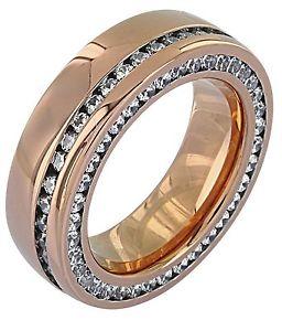 【送料無料】ブレスレット ステンレススチールステンレスステンレススチールピンクゴールドリングスチールリングリングanello in acciaio inossidabile anelli in acciaio inox da donna anello in acciai