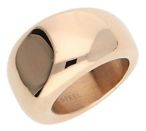 【送料無料】ブレスレット リングステンレススチールピンクゴールドesprit donna dito anello in acciaio inox oro rosa bold esrg 12426c
