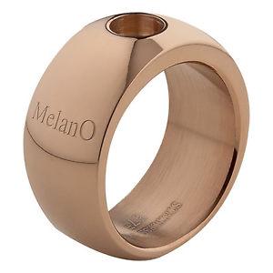 【送料無料】ブレスレット ローズリングサイズmelano magnetico anello rosato 10 mm con 01r003 rg gre 58 brillante per