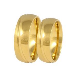 【送料無料】ブレスレット ステンレスリングリング2 fedi fedi nuziali fedine anelli in acciaio inox incl incisione 170hh