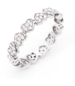 【送料無料】ブレスレット amen anello cuore amore argento zirconi rhhz14
