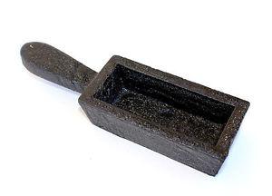 【送料無料】ブレスレット インゴットモールドlingottiera conchiglia di fusione da 2,6 kg