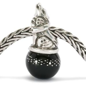 【送料無料】ブレスレット オオカミtrollbeads original authentic lupo corazzato tagbe00015