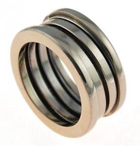 【送料無料】ブレスレット ステンレススチールローズモダンリングmoderno anello in acciaio inossidabile rose sr223