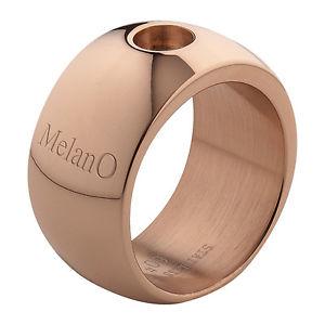 【送料無料】ブレスレット ローズリングサイズブリリアントmelano magnetico anello rosato 12 mm con 01r001 rg misura 57 brillante per