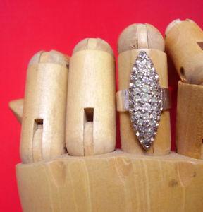【送料無料】ブレスレット メタルラインストーンシルバーj223 bague marquise metal argente strass taille reglable