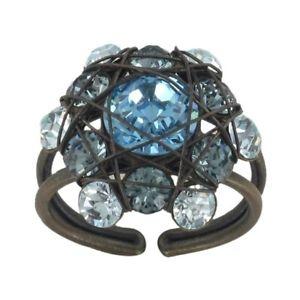 【送料無料】ブレスレット konplott anello bended lights blu chiaro