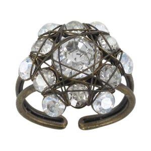 【送料無料】ブレスレット リングkonplott anello bended lights bianco