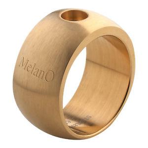 【送料無料】ブレスレット マグネットヘッドカットリングmelano magnetico anello taglia 54 opaco 10 mm con 01r003 per magnete testa