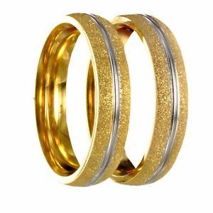 【送料無料】ブレスレット ステンレススチールブライダルリング2 x anello in acciaio inossidabile fedina nuziale fede incisione gratuita 20170