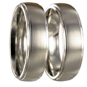 【送料無料】ブレスレット ステンレスリングリング2 anelli in acciaio inossidabile fedine fedi nuziali vere incisione gratuita 20080