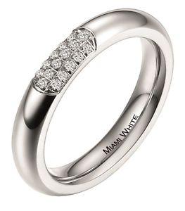 【送料無料】ブレスレット ステンレススチールマイアミリングmiami white anello in acciaio inox ceres 311xx0911
