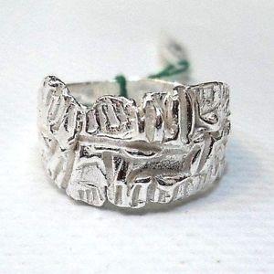 【送料無料】ブレスレット シルバーリングanello argento 925 fatto a mano misura 16 circonferenza 56 mm