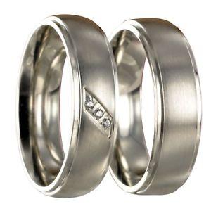 【送料無料】ブレスレット ステンレスリング2 anelli di fidanzamento in acciaio inox fedi fedi nuziali vere incisione interna 40080
