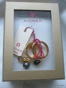 【送料無料】ブレスレット アイグナーゴールドトレーラーaigner oro ringset colorata tg 52 con rimorchi a6133052*neu