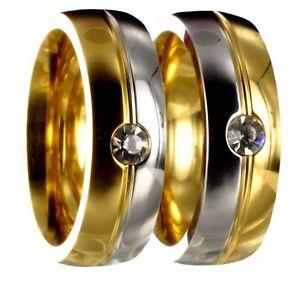 【送料無料】ブレスレット 2 x anello in acciaio inossidabile fedina nuziale fede incisione gratuita 50176