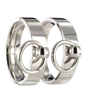 【送料無料】ブレスレット ステンレススチールリングログアウトページマスターサブ2x acciaio inox anello dello fedi fedi nuziali s amp; m bdsm master amp; sub incisione 20p126