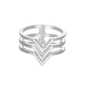 【送料無料】ブレスレット esprit donna anello in acciaio inox argento jw52894 zirconia esrg 02611a1