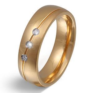 【送料無料】ブレスレット ステンレススチールリングパートナーpartner da donna anello in acciaio inox con la sua grafia come incisione pe169d
