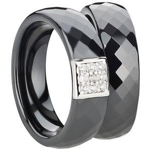 【送料無料】ブレスレット セラミックシルバーリングfedine anellifedidi fidanzamento fediceramic argento