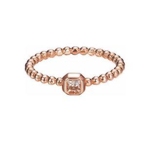 【送料無料】ブレスレット ガラスエスプリリングesprit anello da donna argento ros rettangolo di vetro smerigliato esrg 92826c1