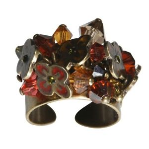 【送料無料】ブレスレット フェニックスオレンジリングkonplott anello flowers for phoenix fiori arancione