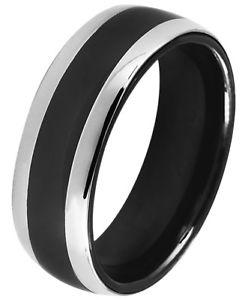 【送料無料】ブレスレット just ceramica anello da donna nero argento colorate elegante lucido
