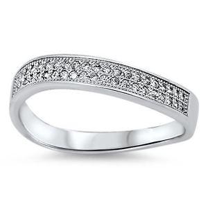 【送料無料】ブレスレット little treasures sterling silver cz eternity anello