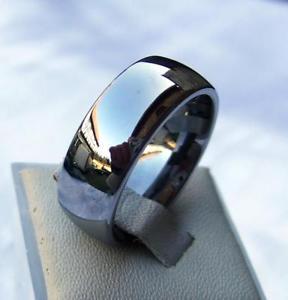【送料無料】ブレスレット タングステンカーバイドリングクラシックチタンハード2 woframtungsten carbide anelli 8 mm largaclassicotitanioduro 116