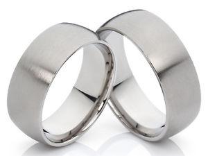 【送料無料】ブレスレット チタンリングリング2 titanio anelli anelli di fidanzamento anello dellamicizia amp; incisione