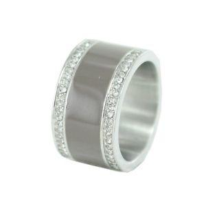 【送料無料】ブレスレット ステンレススチールクリスタルガラスリングesprit donna anello in acciaio inox ros classy vetro cristallo esrg 12429a1