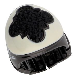 【送料無料】ブレスレット リングメタルブラックホワイトguess donna dito anello metallo nerobianco ubr81135s
