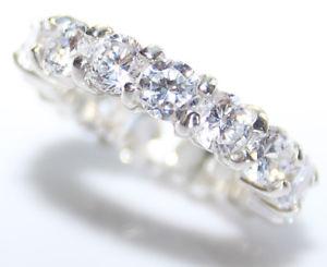 【送料無料】ブレスレット スターリングシルバーリングdimensione h amp; i eternit aaa zirconi attraente argento sterling anello devine